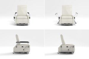 treatment chair multiple views
